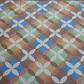 Mosaico hidraulico de cemento en 7 colores