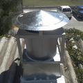 Extractor tubo axial descarga vertical.