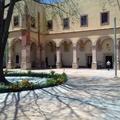 Portal de Novicias, fachada posterior en el interior del Claustro de SRV