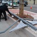 postes de alumbrado rosarito bc