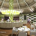 Restaurante Vegetarioano - Sandos Cancun - Santoscoy Arquitectos