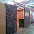 Stand decorado con nuestro panel