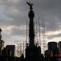 "vista del ""angel de la Independencia"""