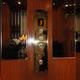 Interior de elevador de redidencial