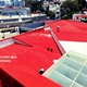 Sistema base agua color rojo terracota