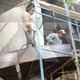 montaje y fabricación de escalera