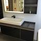 Mobiliario para baños distintos acabados