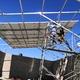 Avances de instalación de paneles solares