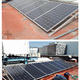 Mantenimiento de paneles solares.