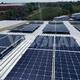 Paneles solares para una fábrica