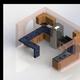 Modelo 3D Cocina