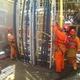 instalación de cable armado para conexión de fuerza