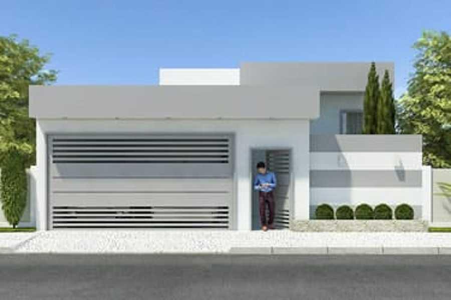 Foto proyecto casa habitacion de duarq 353674 habitissimo for Proyecto casa habitacion minimalista