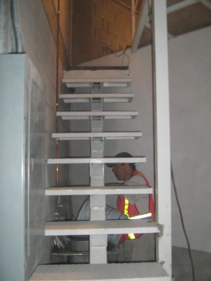 Trabajos de Herrería, escaleras metálicas