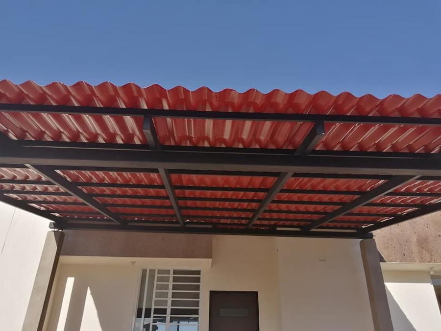Diseño y fabricación de tejado