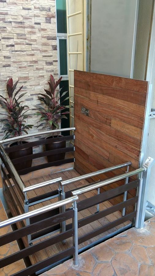 elevador personalizado media cabina