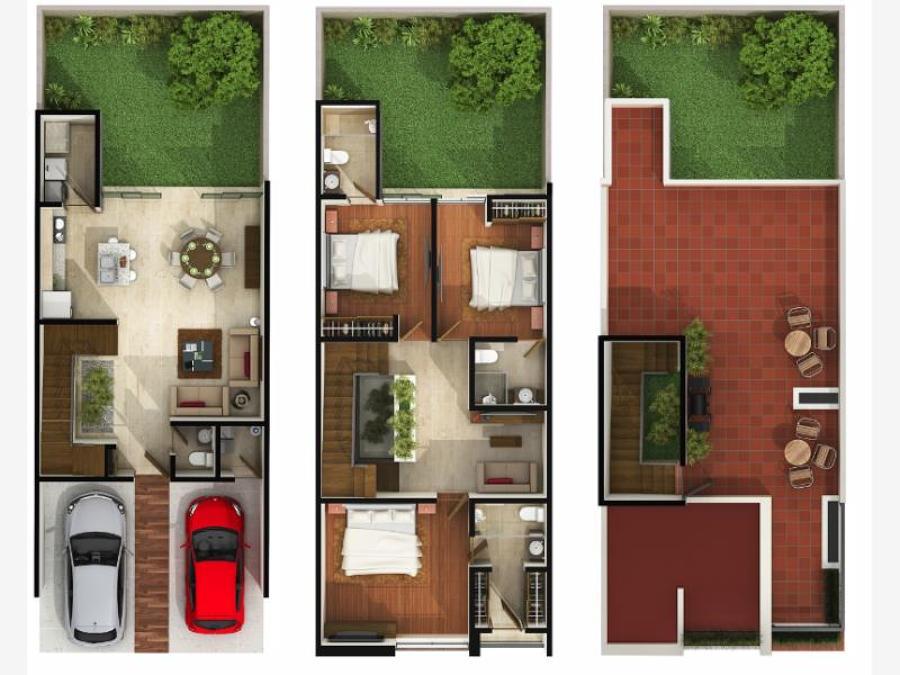 Foto proyecto casa habitacion de duarq 353676 habitissimo for Planos de casa habitacion