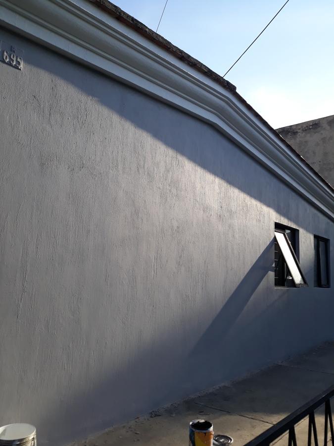 Parte posterior de la casa