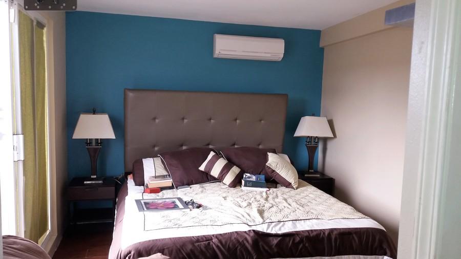 Foto pintura interior a recamara de arreguin painting for Pintura de paredes interiores fotos