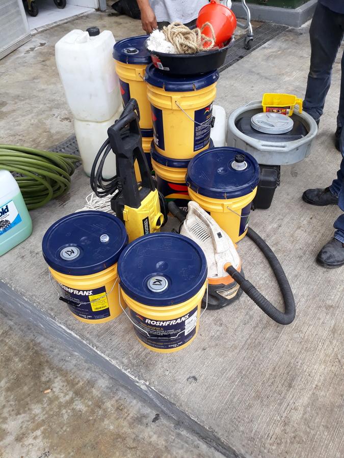 material de suministro para servicio