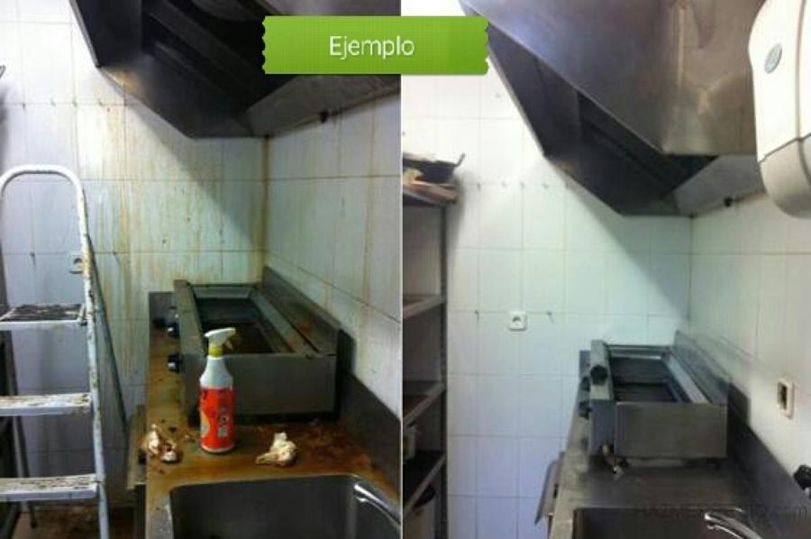 Limpieza de cocinas, comedores industriales