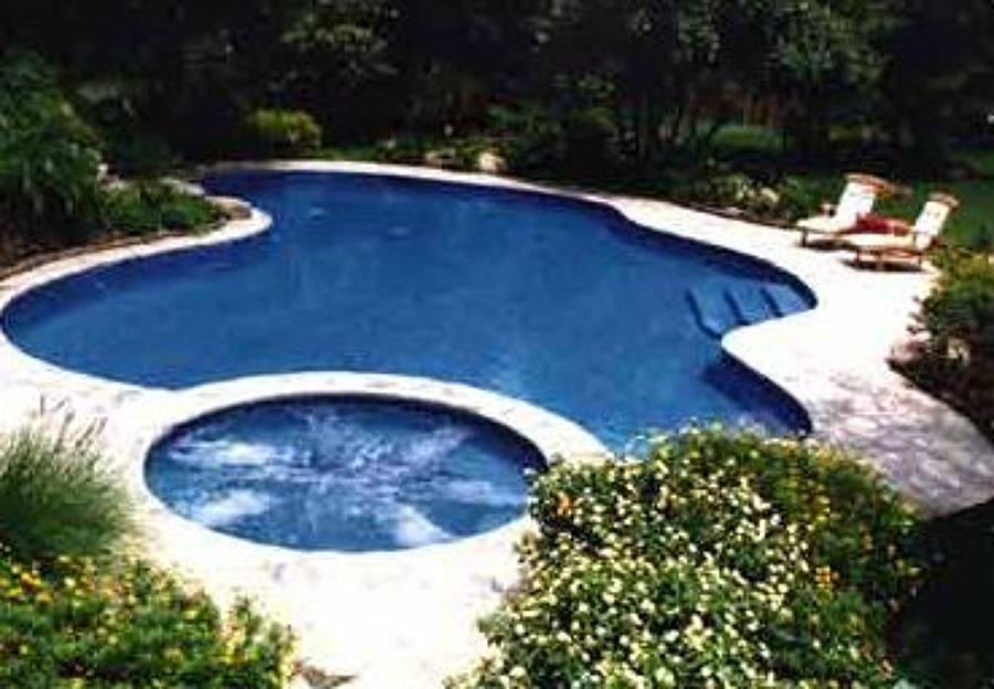 Foto jasming spa de jbm swimming pools and jacuzzis for Albercas pequenas con jacuzzi