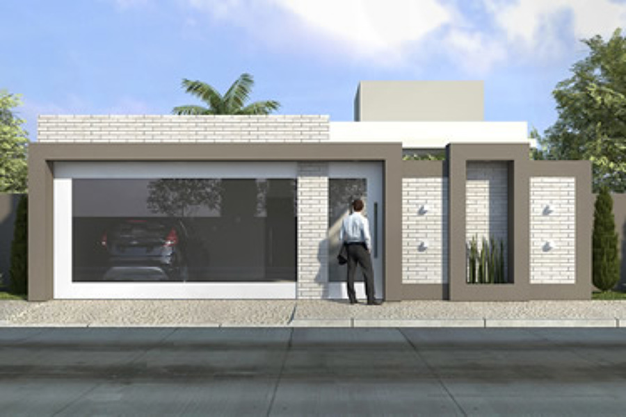 Foto proyecto casa habitacion de duarq 353675 habitissimo for Proyecto casa habitacion minimalista