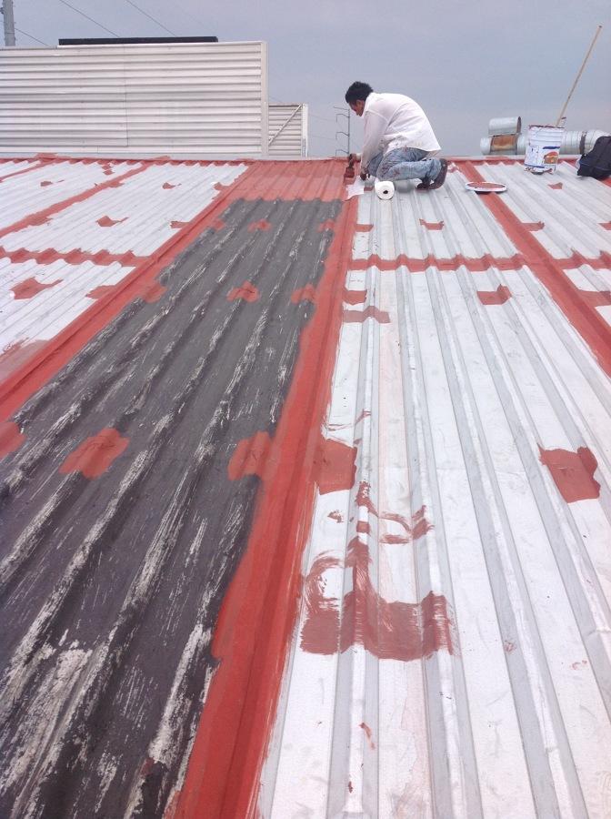 Imper de techo de lámina