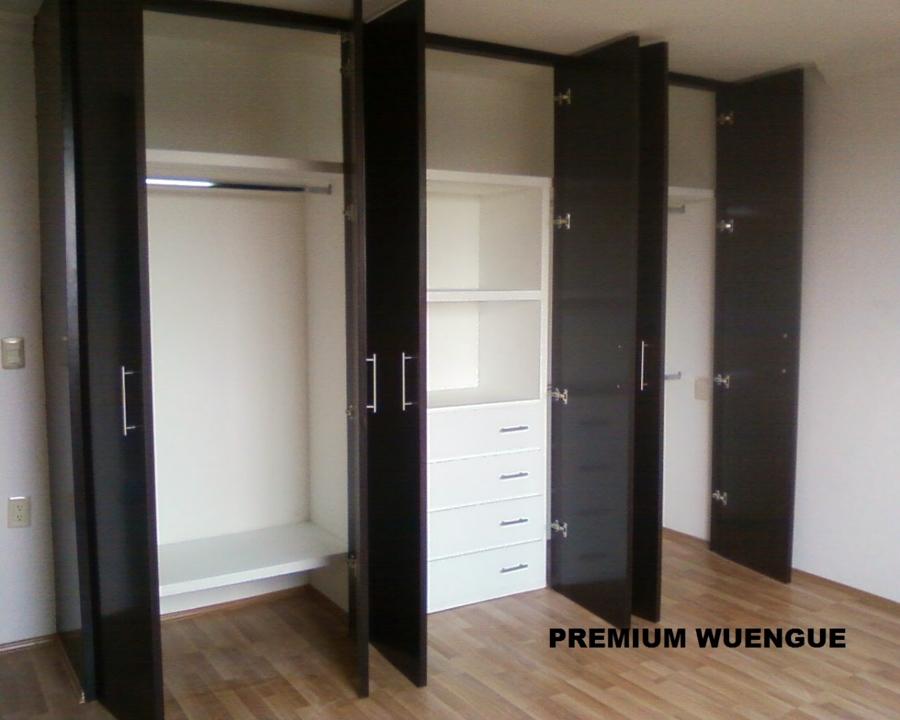 Foto abatible wuengue y blanco de beristain todo en for Ideas para closets modernos