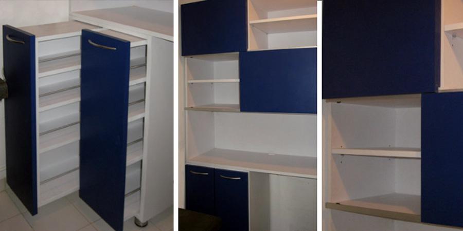 Foto alacena para cocina de muebles m 9960 habitissimo - Alacenas de madera para cocina ...