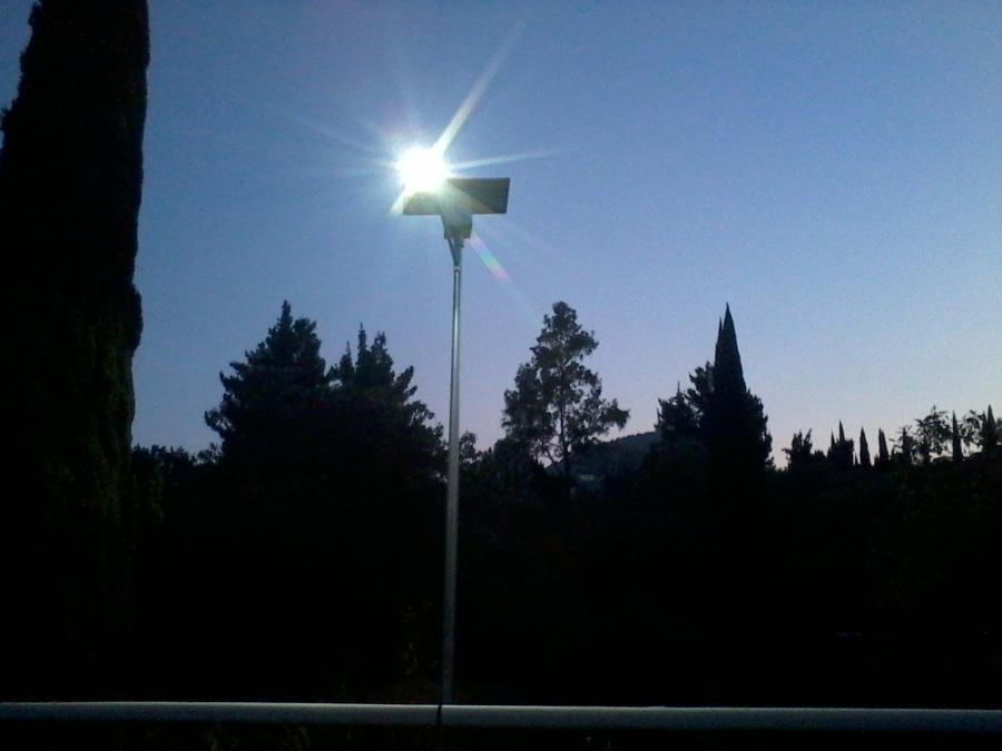 alumbrado fotovoltaico