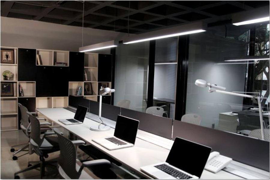Area de trabajo abierta