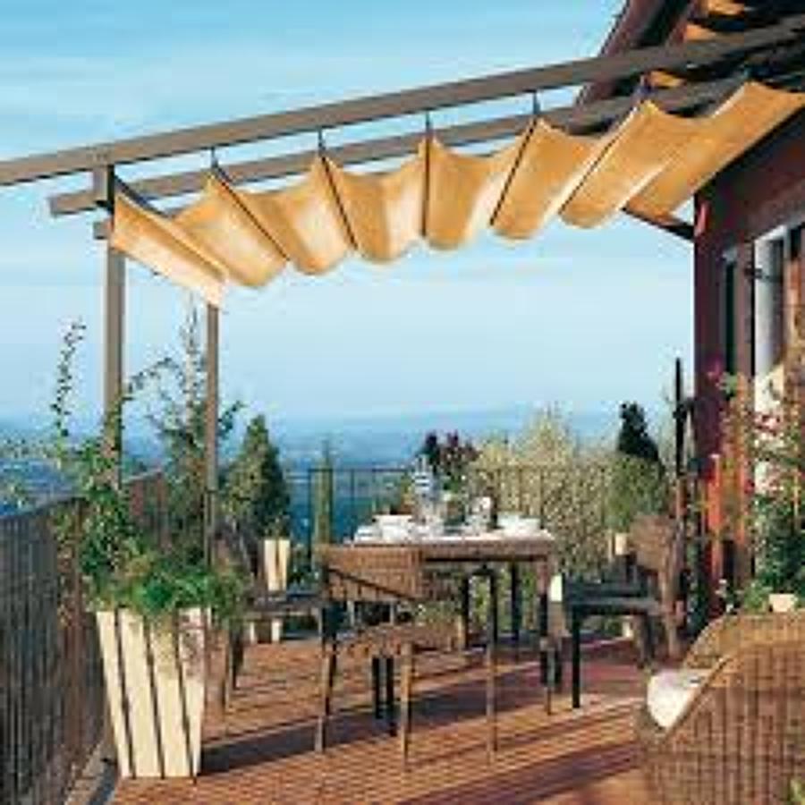 Foto techumbre corrediza de mcdin 119179 habitissimo - Toldos para patios exteriores ...