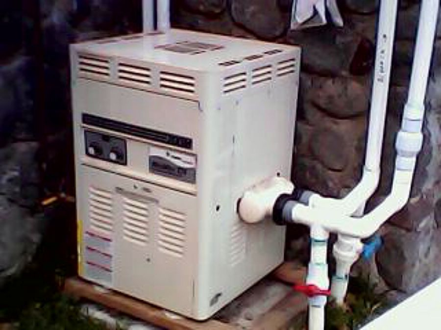 foto caldera de gas para albercas jacizzi de ing