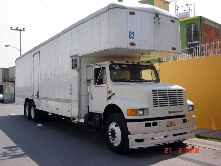 Camión Mudancero 95 Mts..