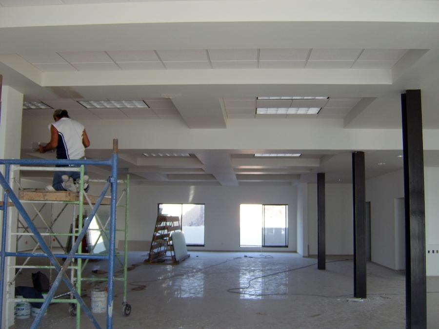 Foto canacintra tablaroca plafones y muros durock - Plafones de iluminacion ...