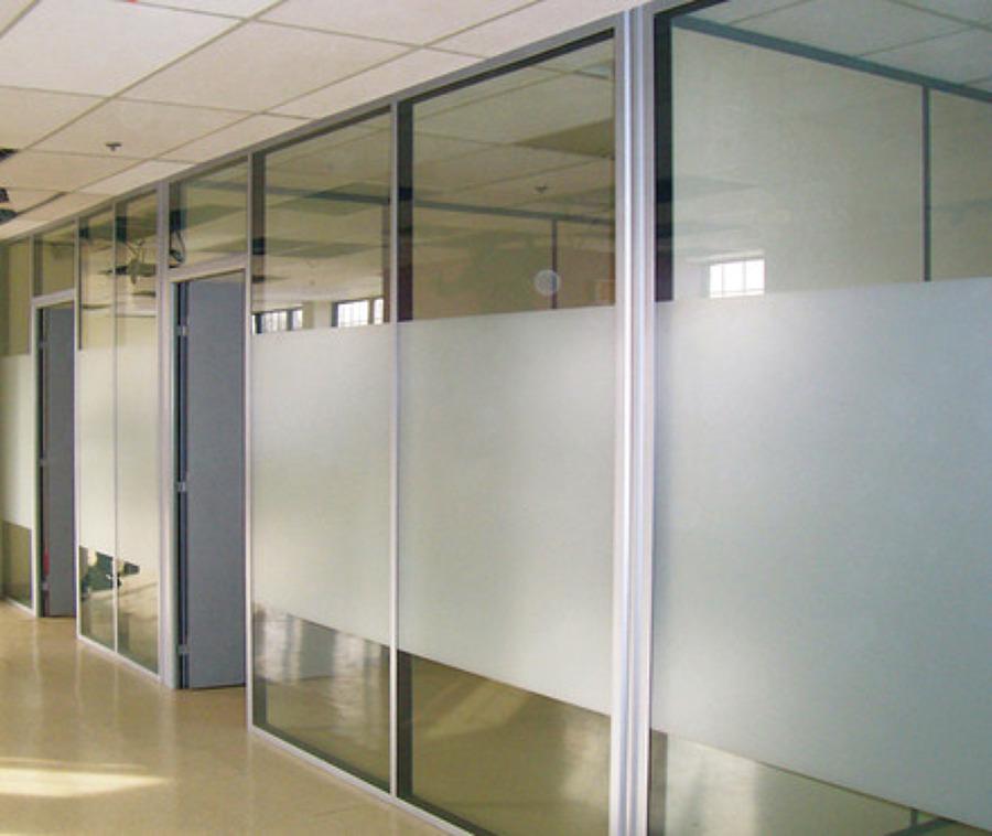 Foto Canceleria Aluminio Y Vidrio De Ingenieria