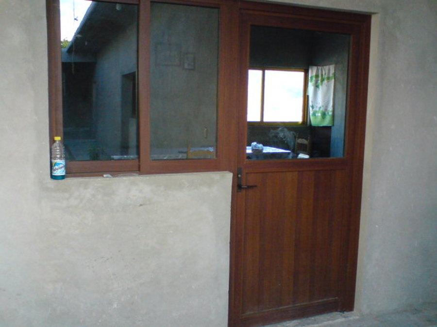 Foto canceles de aluminio y vidrio de vidrio y aluminio - Fotos puertas de aluminio ...