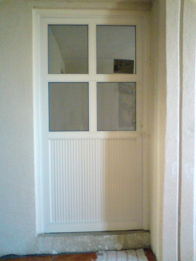 Imagenes De Puertas Para Baño De Aluminio:Foto: Canceles de Aluminio y Vidrio de Vidrio Y Aluminio Mendez #41329