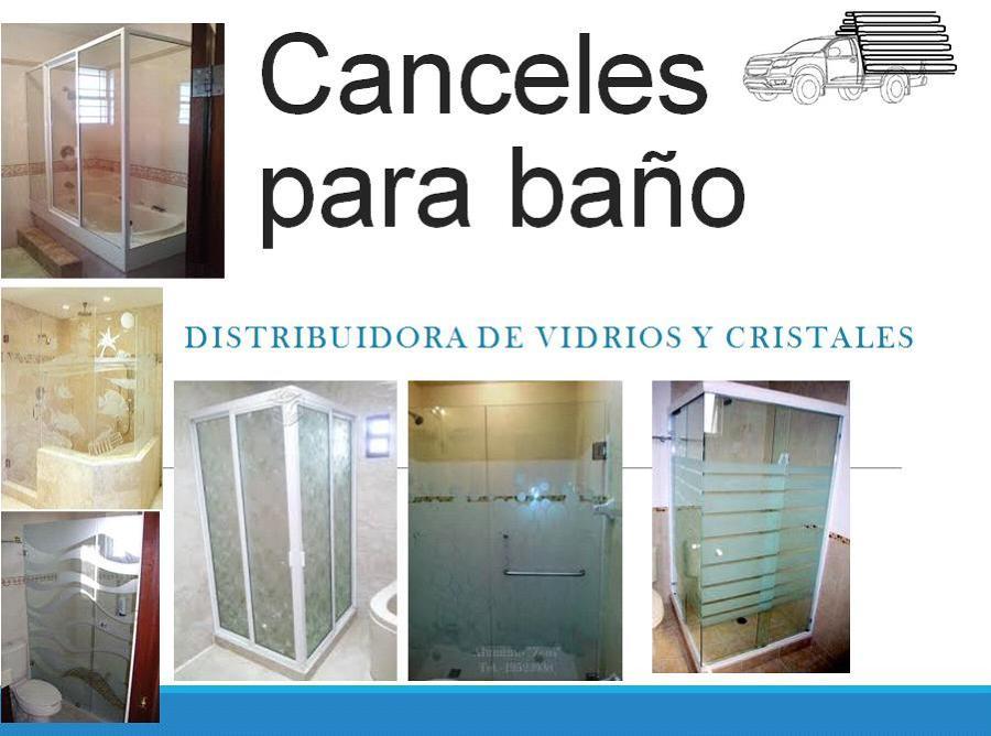 Foto canceles para ba o entradas o estancias de - Cristales para bano ...