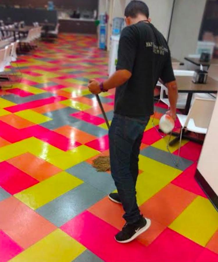 Lavado de piso