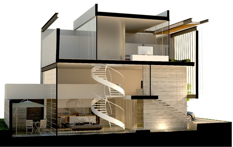 Foto casa habitaci n de edica estructura 30502 habitissimo - Estructuras de acero para casas ...