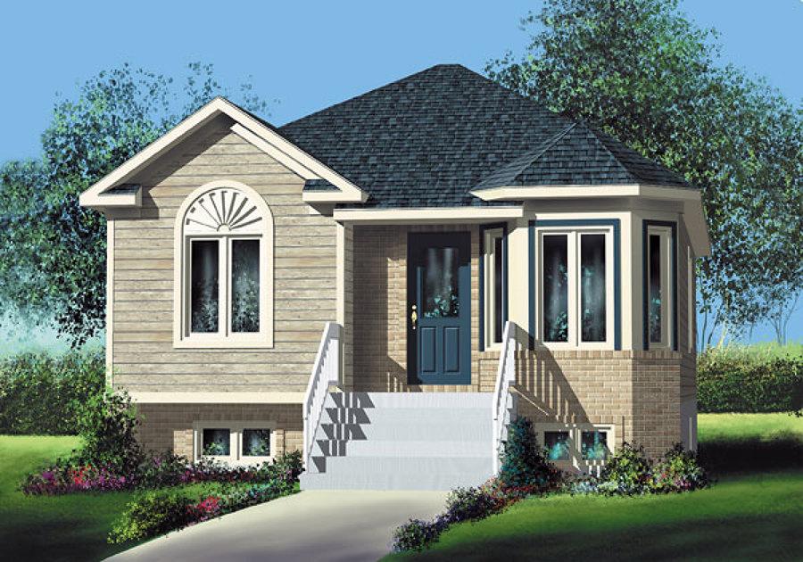 Foto casa residencial modelo austrias de construcciones for Casas de madera pequenas