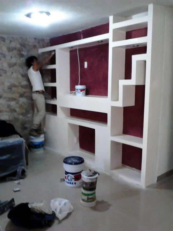 M s de 25 ideas incre bles sobre muebles de tablaroca en - Muebles para centros comerciales ...