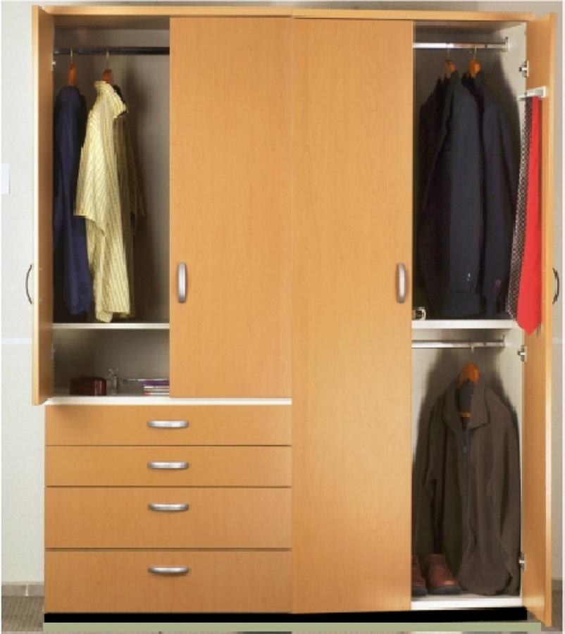 Closet Duo (Versión cajonera) Vista completa