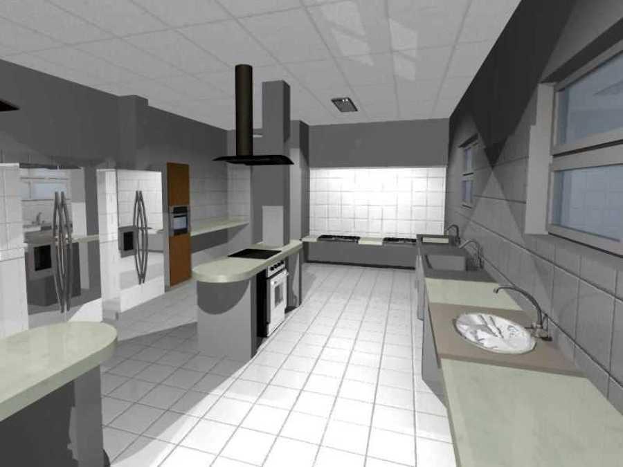 Foto cocina de sal n de eventos de constarq 15534 for Planos de cocina salon