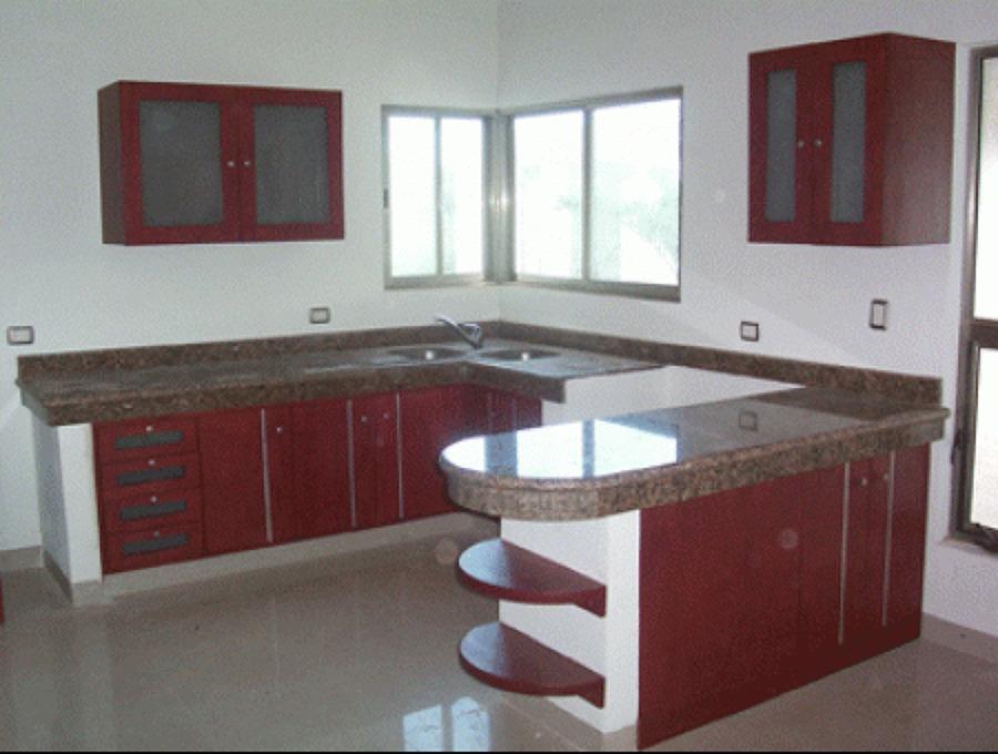 Foto cocina en caoba de woodworks studio 62398 habitissimo for Medidas de mesones para cocina