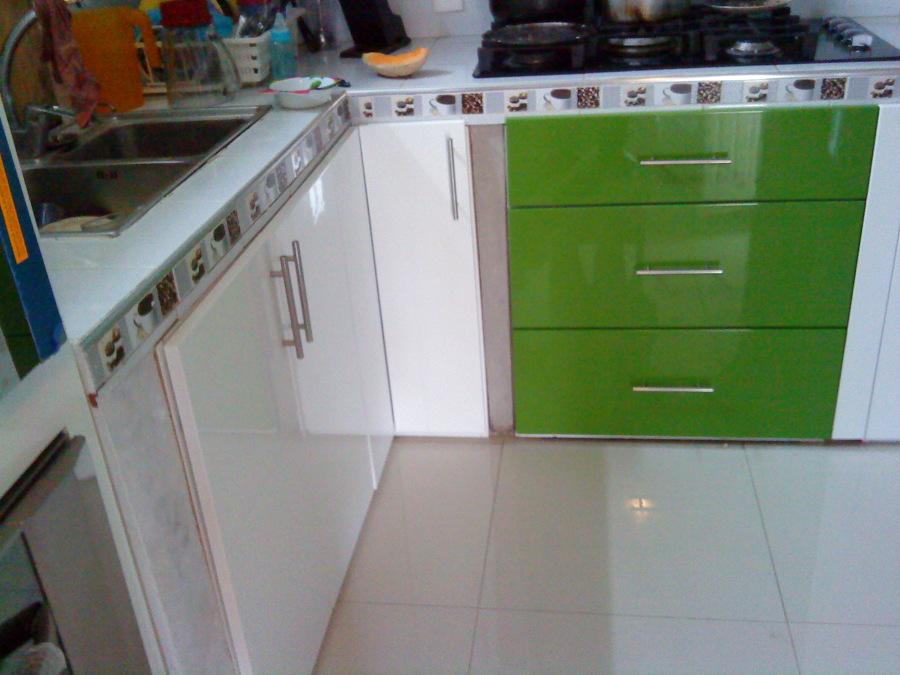 Foto cocina en dos colores de cocinas integrales monarca - Cocinas en dos colores ...