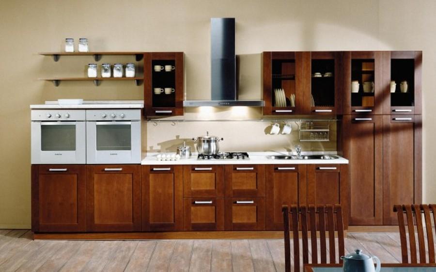 foto cocina en madera color natural de struk 45475