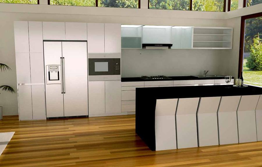 Pin cocina integral estufa est n en excelentes condiciones for Remodelar cocina integral